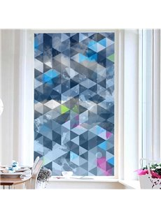 Diamond Pattern Painted Decorative Privacy Frosted Window Film