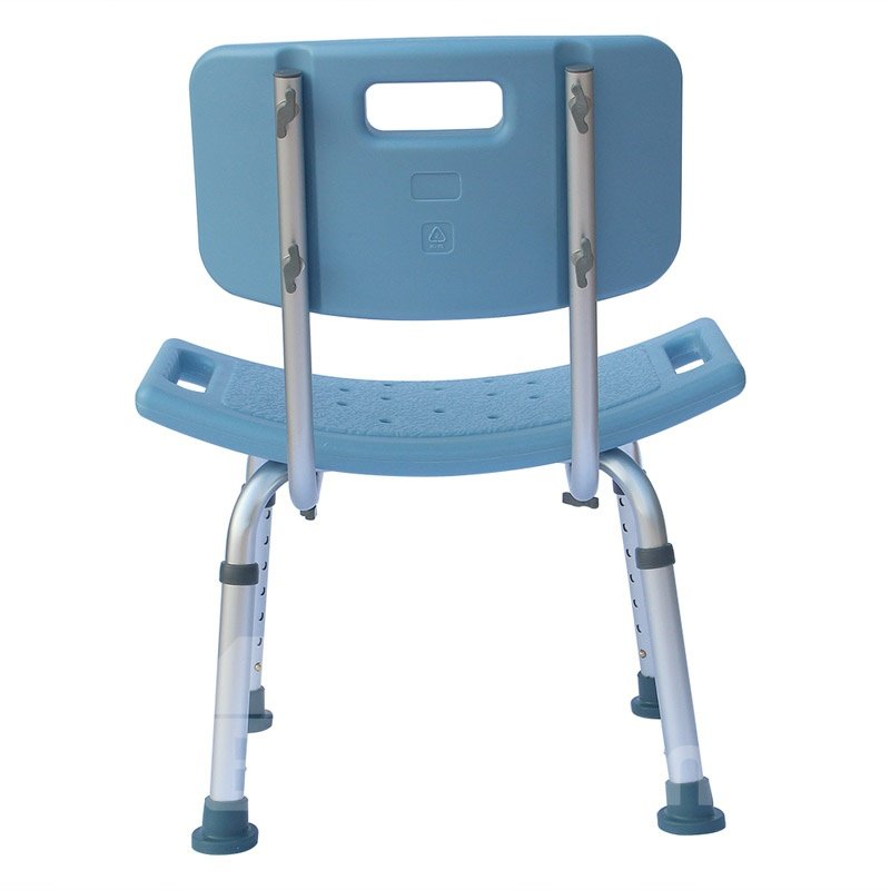 Lightweight, Waterproof, Durable and Safe Backrest Bath Chair For Old People And Expectant Mother