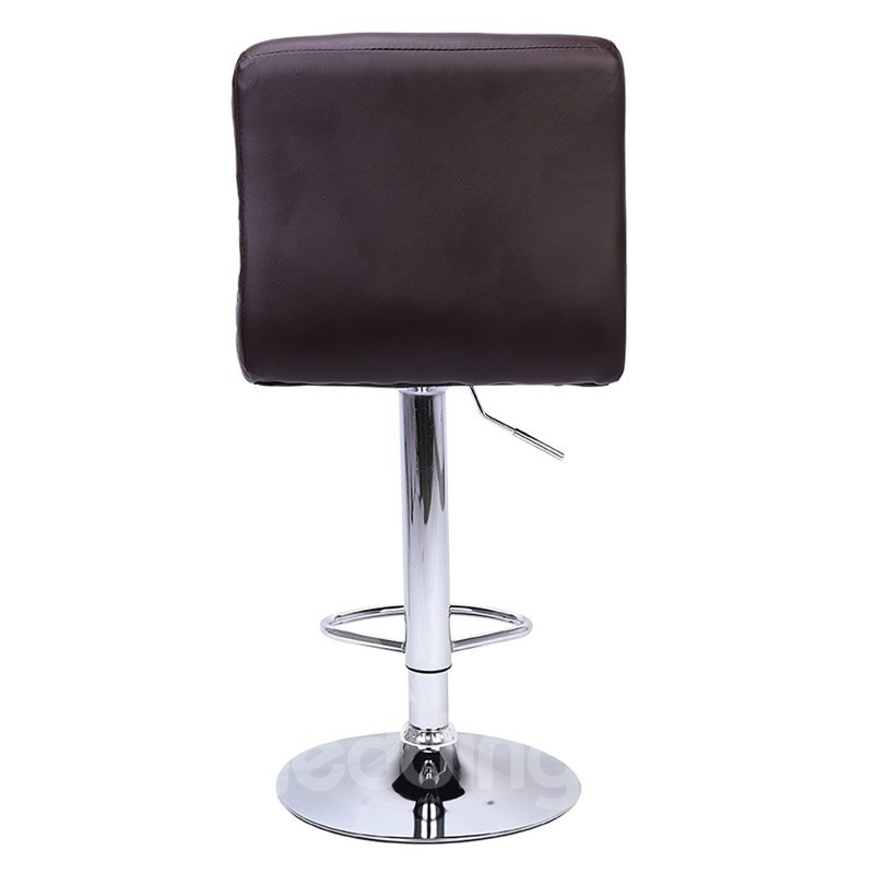 Adjustable Bar Chair, Leather, Sponge Filled, Comfortable And Soft, Suitable For Restaurants, Kitchens, Living Rooms, Entertainment Rooms, Offices, Cafes And So On