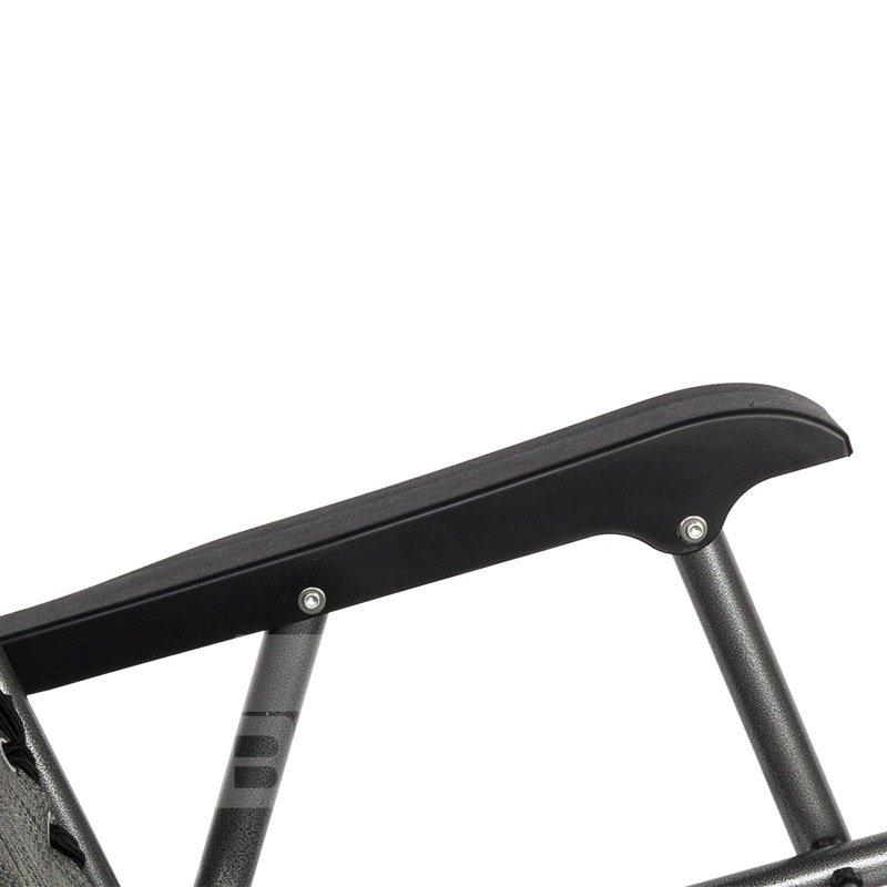 Adjustable Reclining Position Folable Design For Easy Storage Powder-Coated Steel Frame Resist Rust And Weathering