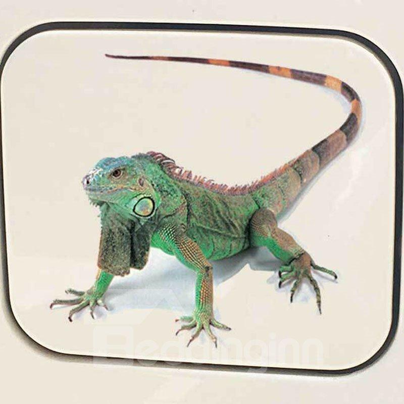 3D Lifelike Animal Pattern PVC Material Non-Gumming Poisonless And Tasteless Car Stickers