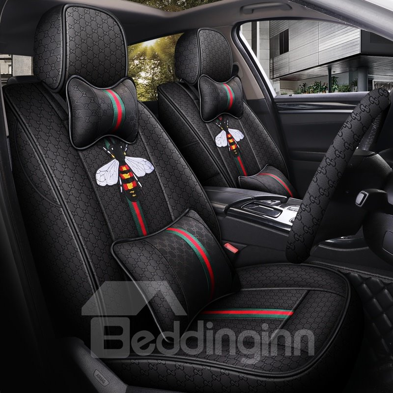 Creative Style Bee Pattern Environmental Health Materials Airbags Are Compatible Lntimate Custom Fit Seat Covers Creative Style Bee Pattern Environmental Health Materials Airbags Are Compatible Lntimate Custom Fit Seat Covers