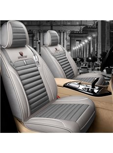 Country Style Warm Colors Homely Feel Linen Material Breathable Comfortable And Durable 5 Seats Universal Truck Seat Covers