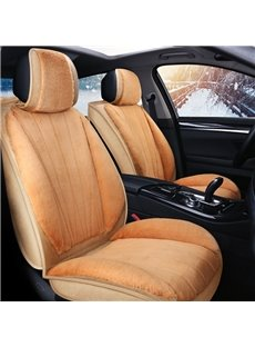 Country Style Flannel Material Warm And Breathable For Winter Universal Seat Covers