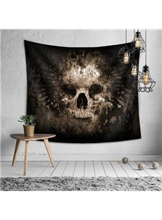 Ancient Skeleton Halloween Decorative Hanging Wall Tapestry