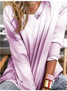 Soft and Warm Long Sleeve Women's Sweater Casual Blouses Sweatshirts Tops