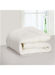 Solid Color Eco-friendly Cotton Kid/Baby Quilts Breathable Soft Skin-friendly Duvet