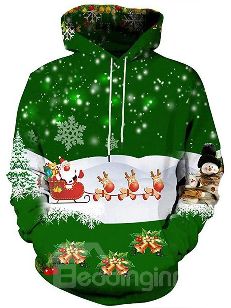 3D Christmas Printing Sports Unisex Pullover Hoodies Fashion Sweatshirt Sportswear