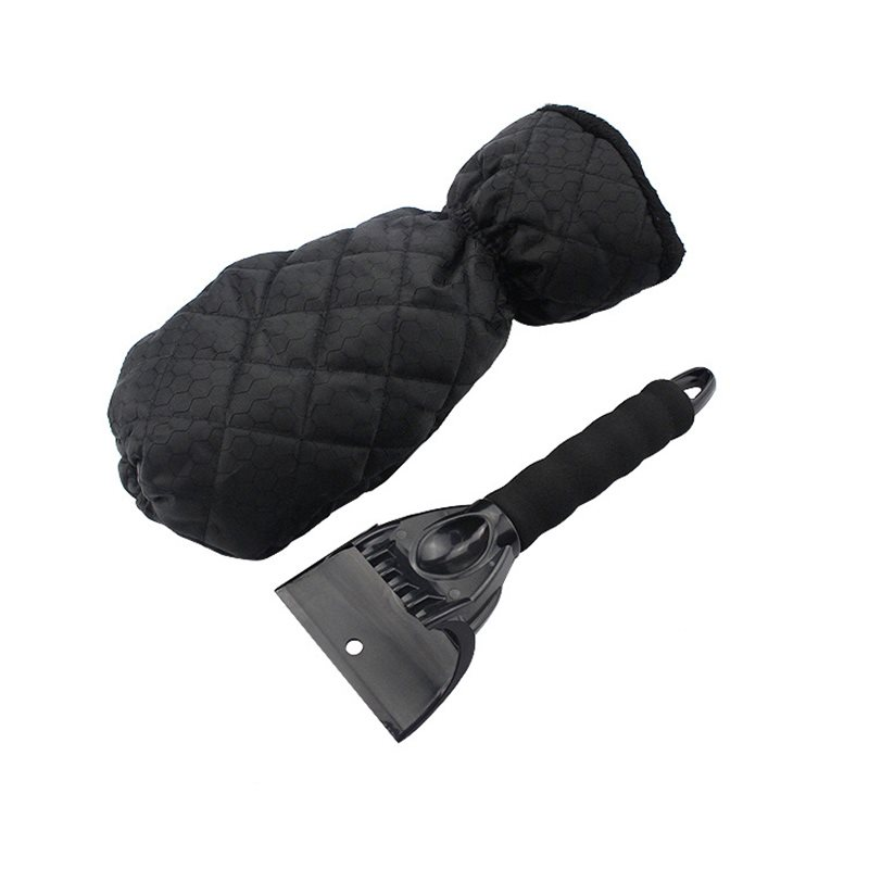 Don't Hurt The Car Winter Snow Removal And Ice Shovel Oxford Fabric Waterproof Inner Flocking Fabric Antifreezing ABS Shovel Head