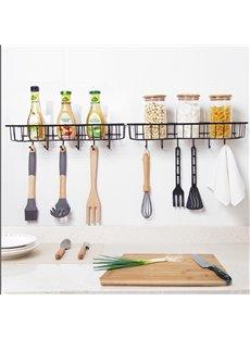 Beddinginn Wall Mounted Type Tableware Iron Kitchen Storage Holders & Racks