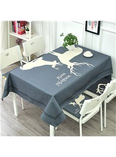 Beddinginn Polyester Animal European Rectangle Tablecloth
