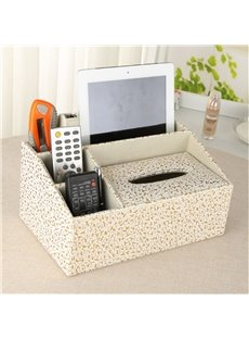 Beddinginn Tissue Box European Leather Storage Boxes