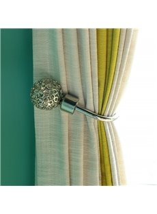 Fashion Nordic Style Hollowed-out U Pattern 1 Pair Decorative Curtain Hooks