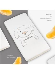 Cotton Elastic design with No Wrinkling Fitted Sheet Cartoon Baby Mattress Covers