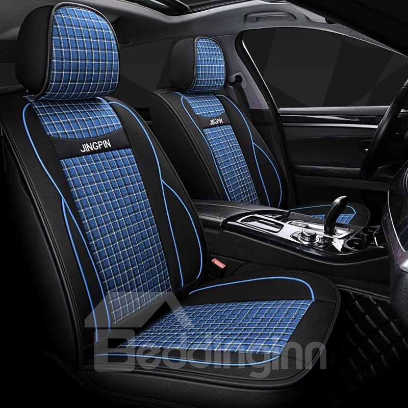 Car Seat Covers Wear Resistant Breathable Linen Breathable Pic