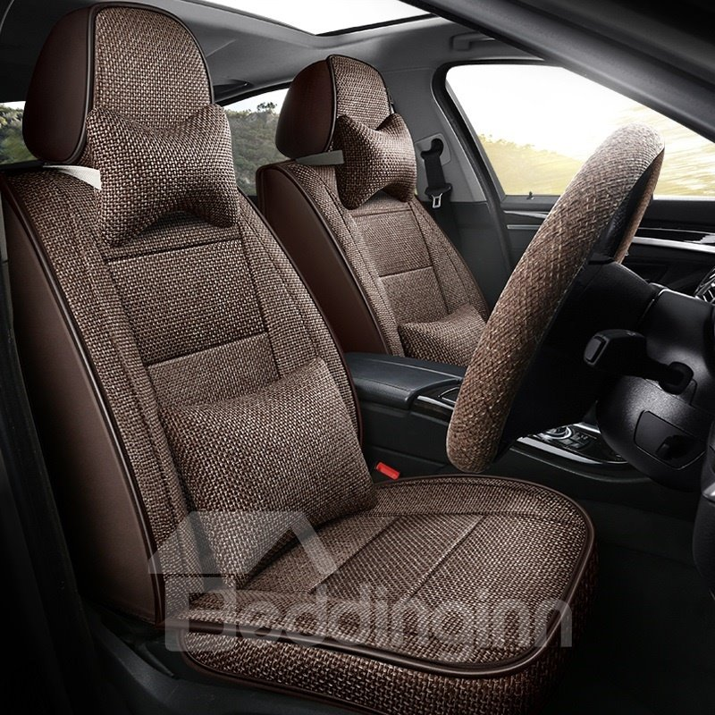 Car Seat Cover Breathable Fabric Wear Resistant Materials Pic