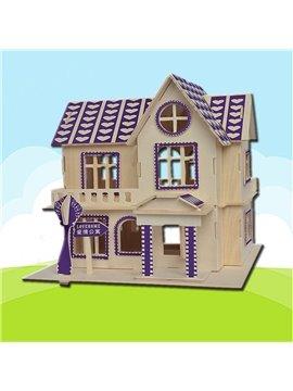 Love Home Puzzle DIY Children Assemble Puzzle Toys
