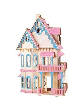 Gothic House Puzzle DIY Children Assemble Puzzle Toys