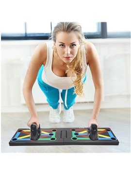 Push-Ups Stands Fitness Equipment Household Chest Arm Latissimus Dorsi H - type Multi - functional Push-up Board