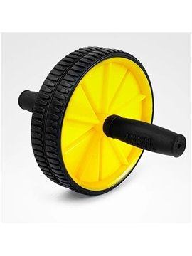 Ab Rollers Indoor Small Fitness Equipment Classic AB Two-wheeled Belly Wheel Abdominal Fitness Equipment Outdoor Sporting Goods Sports Equipment