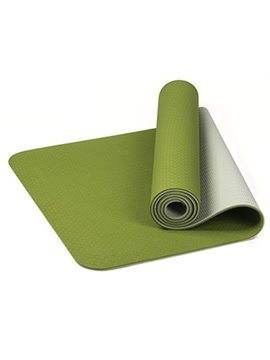 Eco Friendly Yoga Mat with Alignment Lines Free Carry Strap Non Slip Yoga Mat for All Types of Yoga