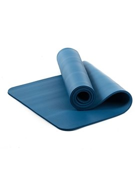 Yoga and Pilates Mat 1.5mm Long High Density Exercise Mat with Comfort Foam and Carrying Strap
