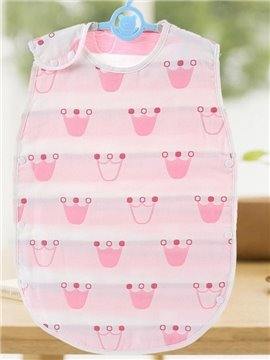 Cotton Unisex Baby Sleeping Bags Soft Breathable Cloth for Spring Summer and Autumn