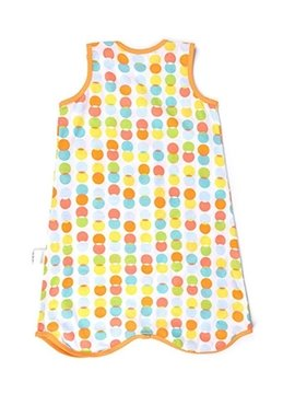 Soft Breathable Cotton Unisex Baby Sleeping Bags for Spring Summer and Autumn