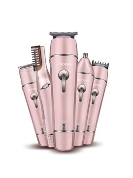 Electric Hairdressers Multi-functional Hair Clipper JD-9911 Full-body Shaver Nose Shaver Eyebrow Repair Knife Beauty Knife Set