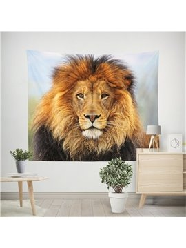 3D Wild Lion Wall Tapestry Home Decoration Wall Decorations