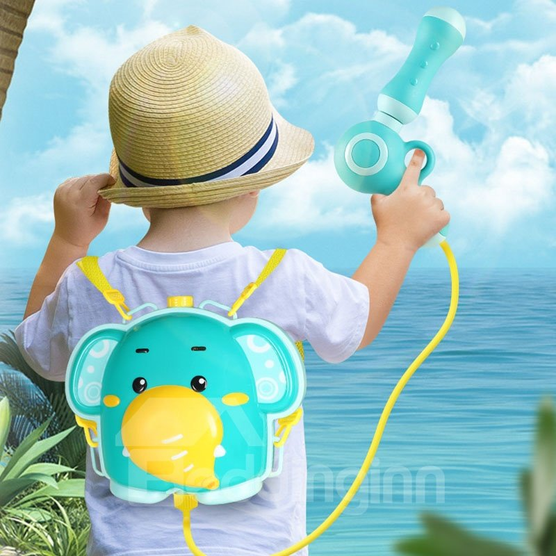 Cartoon Plastic Unisex Bath Toys Draw-out Summer Beach Water Gun Toys