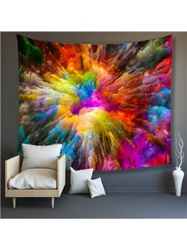3D Colorful World Wall Tapestries Home Decoration Wall Decorations Bedspread Bed Cover Table Cloth Curtain