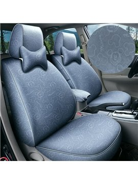 High Quality 5 Seats Polyester Business Seat cover Four Season Custom Cover Full Coverage