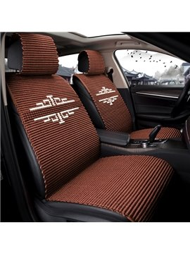 Polka Dots Ice Silk Business Cotton Seat cover