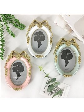 Simple Retro Home Gift Bow Knot Photo Frame Nordic Creative Wedding Photography Photo Frame
