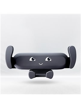 Cuteness Baby Mobile Phone Holder Vehicle-mounted Air Outlet Vehicle Navigation Clip-on Creative Automobile General Bracket Customization Universal Car Fit