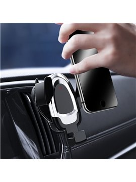 In-car Mobile Phone Stand Multi-function Wireless Charger Stand Outlet General Motors Automatic Sensor Stand Universal Car Fit