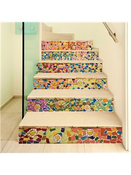 Colorful Rocks Creative Wall Stickers / Wall Decorations