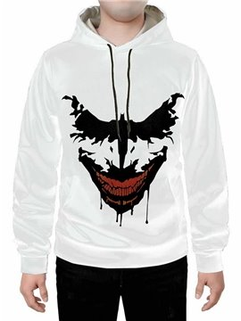 White Long Sleeve 3D Creative Hoodie Sweatshirts Sweatpants Tracksuits Streetwear Sets Casual Print Spring Fall Winter Men's Outfit