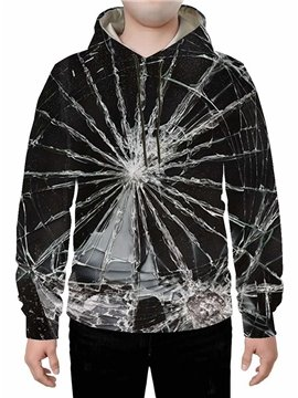 Long Sleeve 3D Black Creative Hoodie Sweatshirts Sweatpants Tracksuits Streetwear Sets Casual Print Spring Fall Winter Men's Outfit