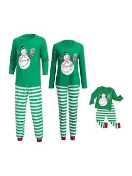 Matching Family Christmas Pajamas Boys Girls Tree Jammies Children PJs Gift Set for The Family Boys and Girls Colorfast Wear-resistant
