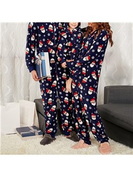 Christmas Family Matching Pajamas Set Sleepwear for The Family Boys and Girls Colorfast Wear-resistant Snowman