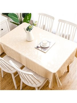 European Style Waterproof Tablecloth Anti-scalding Anti-oil and Non-washing Tablecloth Household Tablecloth Rectangular Coffee Table Tablecloth