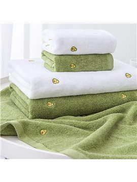 100% Cotton Towels Soft and Absorbent Bath Towels Avocado for Adults