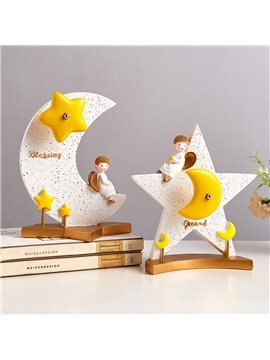 Cute Music Boxes Modern Simple and Lovely Bookshelf Decoration Children's Room Decoration