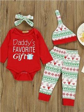 Christmas Girls Boys Pajamas Sets 100% Cotton Holiday Pyjamas Unisex Infant