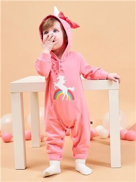 Children's Spring and Autumn Winter Baby Piece Pajamas 100% Cotton for Infants Jumpsuits Long Sleeve