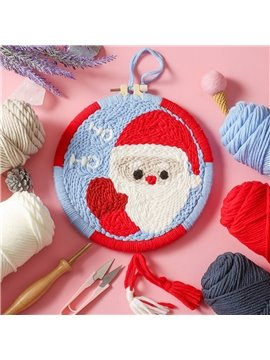 Christmas Tik Tok with the Same Russian Poke Show DIY Anime Yarn Kit for Beginners Modern Handwork Cross-Stitch