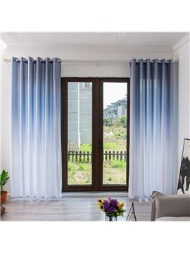 Modern Simple Gradient Shading Blackout Curtains for Living Room Bedroom Custom 2 Panels Drapes Decoration No Pilling No Fading No off-lining