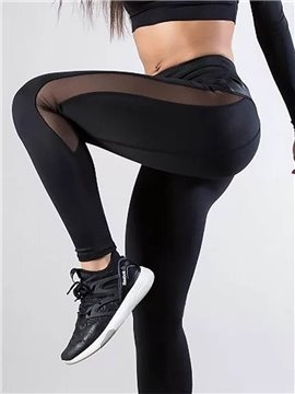 Casual High Waist Yoga Pants Tummy Control Workout Pants for Women 4 Way Stretch Sport Yoga Leggings